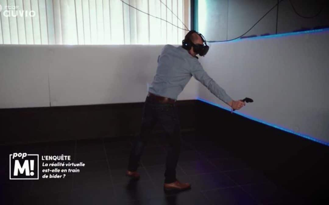 Pop M: RTBF programme on virtual reality's landscape