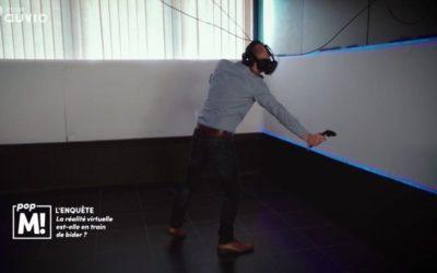 Pop M: RTBF programme on virtual reality's landscape