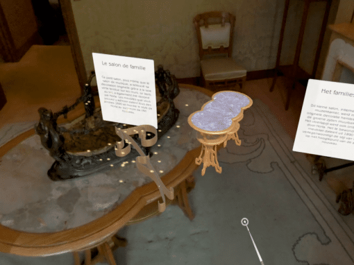 Virtual Visit of the Horta Museum in Brussels